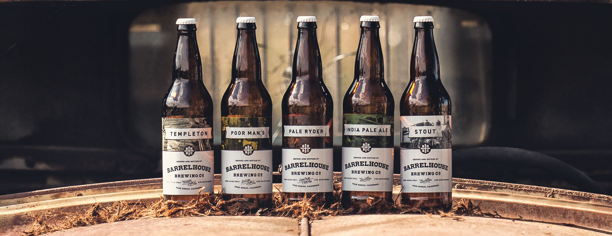 BarrelHouse Brewing Portfolio Bottles