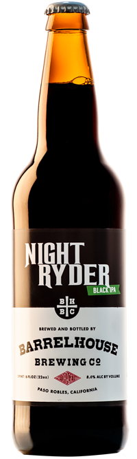 Night Ryder Black IPA Bottle