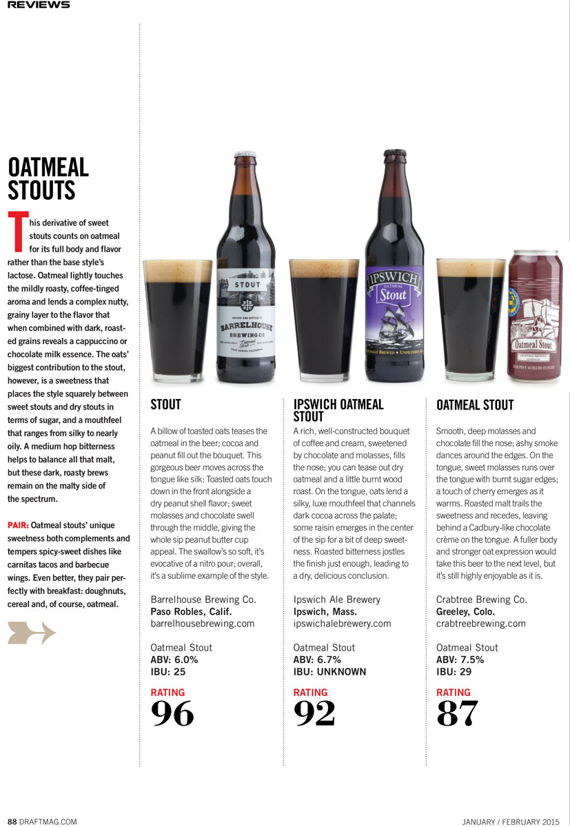 DraftMag 2015 Stout Review