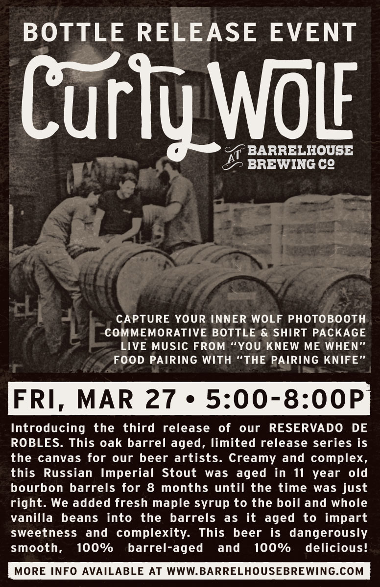 Curly Wolf Release Poster